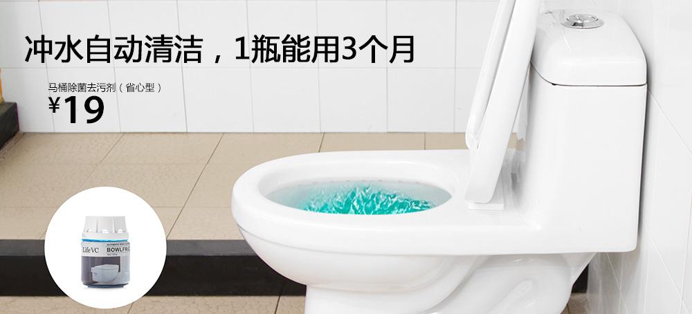 马桶除菌去污剂(省心型)