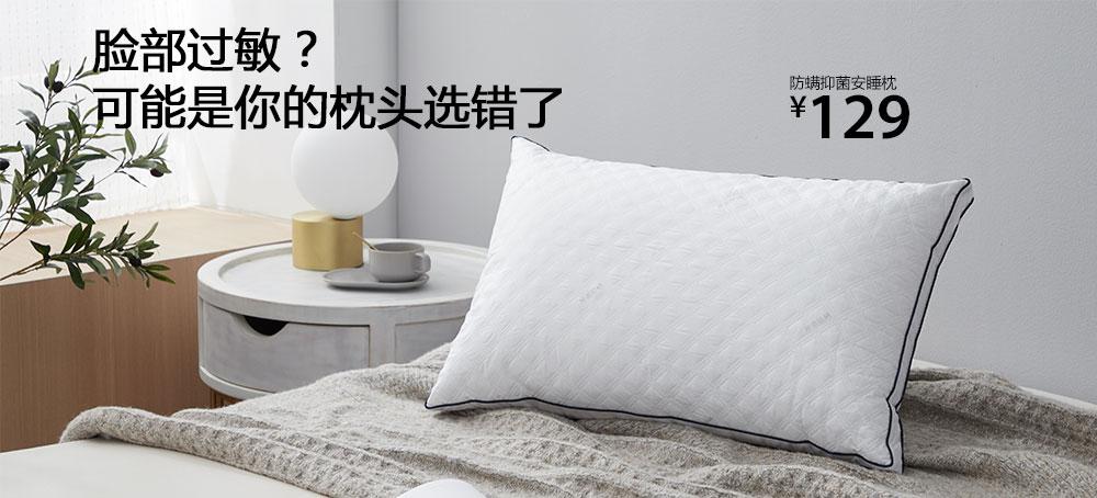 防螨抑菌安睡枕
